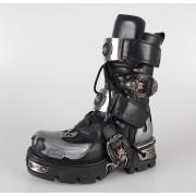 bottes en cuir pour femmes - NEW ROCK - M.195-S2