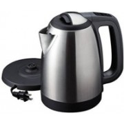 WDS ™Cordless Stainless Steel Tea Heater with Auto Shut Off & Boil Dry Protection Electric Kettle (1.8 L, Silver) Electric Kettle(1.8 L, Silver, Black)