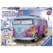 RAVENSBURGER 3D puzzle (slagalice) - volkswagen kombi Indijs RA12527