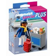 PLAYMOBIL Flight with Attendant Service Cart