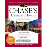 Chase's Calendar of Events 2019: The Ultimate Go-To Guide for Special Days, Weeks and Months, Paperback (62nd Ed.)