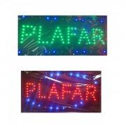 Panou Afisaj Reclama cu LED 50x25cm Plafar