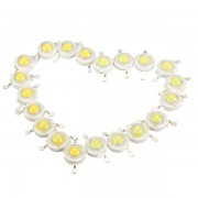 Meco 10pcs 3W LED Lamp Bulb Chips 200-230Lm White/Warm White Beads