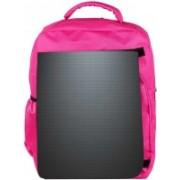 Snoogg Eco Friendly Canvas Grey Light Pattern Design Designer Backpack Rucksack School Travel Unisex Casual Canvas Bag Bookbag Satchel 5 L Backpack(Pink)