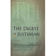 Digest of Justinian, Volume 1(Paperback / softback) (9780812220339)