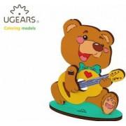 Ursulet Puzzle de Colorat pentru Copii
