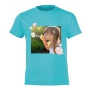 YourSurprise T-shirt - Enfant - Bleu clair - 10 ans