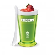 Pahar verde pentru slush sau shake Zoku
