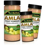 NutrActive AMLA POWDER Antioxidant Vitamin-C - 150gm (Pack of 3)
