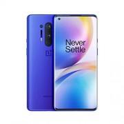 Oneplus 8 Pro (5G) Dual SIM IN2023 256GB/12GB RAM (GSM + CDMA) Desbloqueado de fábrica Smartphone Android (azul ultramarino) Versión internacional