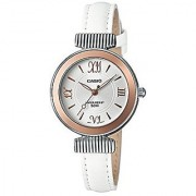 Casio Enticer Ladies Analog White Dial Womens Watch-Ltp-E405L-7Avdf