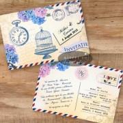 Invitatie Carte Postala