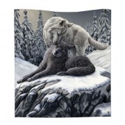 Pătură Zăpadă Sărutări Arunca - B4337M8