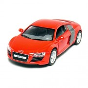 Flying Toyszer Audi R8 5' 1:36 Scale Die-Cast Model Car Door Openable and Pull Back Action Car (Color May Vary)