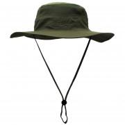 Verano al aire libre de ala ancha protección UV gorra de sol Boonie con cordón de barbilla Sombrero LANG(#Verde del ejército)