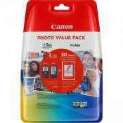 Комплект мастилени касети Canon PG-540XL/CL-541XL Photo Value Pack, 5222B013AA