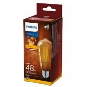 Philips Vintage classic LED 5,5W / 48W 600Lm ST64 E27 2700K GOLD NDSRT4