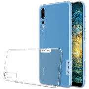 NILLKIN Ultra Thin Anti-slip Transparent Soft TPU Protective Cover Case for Huawei P20 Pro