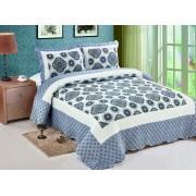 Cuvertură de pat Valentini Bianco A810 Relaxing Blue