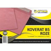 Koverat B5 roze 1/100