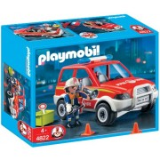 Playmobil Fire Chief's Car, Multi Color