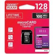 Carduri de memorie Goodrem M1AA-1280R12 (128GB; Clasa 10; adaptor)