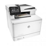Мултифункционално лазерно устройство HP Color LaserJet MFP M477fdw, цветен принтер/копир/скенер/факс/email, 600 x 600 dpi, 27стр/мин, LAN1000 Base-TX, Wi-Fi, USB 2.0, ADF, двустранен печат, A4