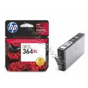 Мастило HP 364XL, Photo Black, p/n CB322EE - Оригинален HP консуматив - касета с мастило