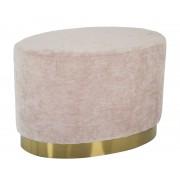 Puf GOLDY, roz, 60X40X40 cm, Mauro Ferretti