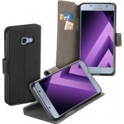MP Case zwart book case style voor Samsung Galaxy A3 2017 - 2017 Duos wallet case