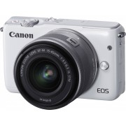 Digitalni foto-aparat Canon EOS M10 Set (Sa 15-45), Beli