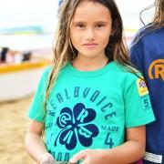 RealBvoice(リアルビーボイス)/キッズ クローバー柄 Tシャツ(130ー160cm)
