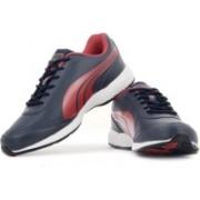 Puma Roadstar XT DP Running Shoes For Men(Red, Navy)