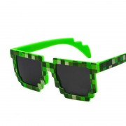 Ochelari de soare MineCraft Verde