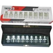 Yato Külső Torx-Dugókulcs Készlet 9db-os (E10-E24) (YT-0521)