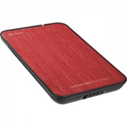 """Sharkoon QuickStore Portable 2,5"""" Red 4044951009930"""