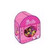 Barraca Infantil com 50 Bolinhas Barbie - Fun