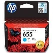 Consumabil HP Cartus 655 Cyan Ink Cartridge