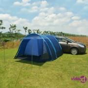 vidaXL Šator za kampiranje 390 x 330 x 195 cm plavi