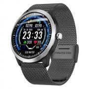 Ceas smartwatch N58, ritm cardiac, PPG+EKG, tensiunea arteriala, BT 4.0, Andoid, IOSa