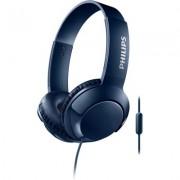 Слушалки с микрофон Philips BASS+ SHL3075BL