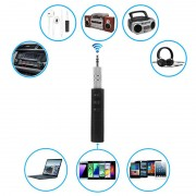 Universal 3.5mm Bluetooth Audio Receiver with Microphone