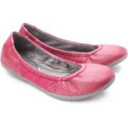 Clarks Illya Shine Bellies For Women(Grey, Pink)