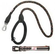 Accesorii si jucarii pentru caini - Set Lesa si zgarda Long Paws Comfort Collection