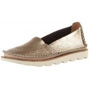 Clarks Women's Damara Chic Gold Metallic Loafers and Moccasins - 5 UK/India (38 EU)