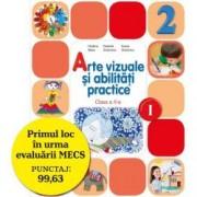 Arte vizuale si abilitati practice. Manual pentru clasa a II-a semestrul I contine editie digitala