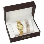 SKYLINE dámská dárková sada hodinky s náramkem MP014