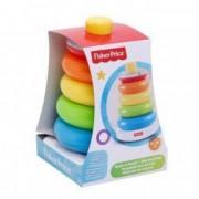 Piramida bebe cercuri multicolore Fisher Price