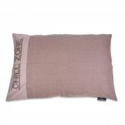 Lex & Max Hondenkussen Chill-Zone Taupe - 100 x 70cm - Kussenhoes