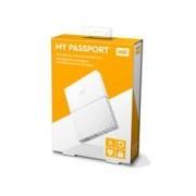 DD EXTERNO PORTATIL 4TB WD MY PASSPORT BLANCO 2.5/USB3.0/COPIA LOCAL/ENCRIPTACION/WIN